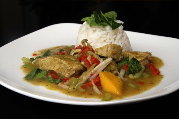 Grünes-Thai Curry